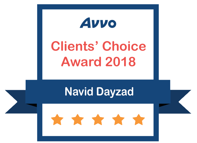Avvo Client's Choice Award